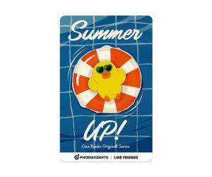 DARTS CARD【PHOENIX】PHOENicA LINE FRIENDS SUMMER UP!