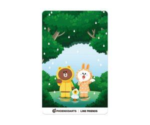 DARTS CARD【PHOENIX】PHOENicA LINE FRIENDS