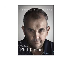 "DARTS DVD【PiD】Portrait in Darts Phil ""The Power"" Taylor 日本限定版"