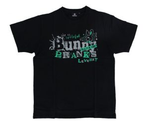 DARTS APPAREL【 SHADE 】Bunny PRANKS T-shirts 佐々木沙綾香 Model black&green