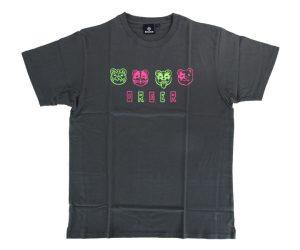 DARTS APPAREL【 SHADE 】ORGER T-shirts 川上真奈 Model gray