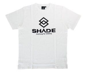 DARTS APPAREL【 SHADE 】LOGO T-shirts white