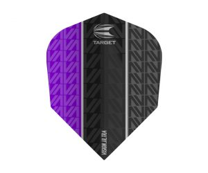 DARTS FLIGHT【TARGET】VISION ULTRA VAPOR8 BLACK Shape Purple 333550