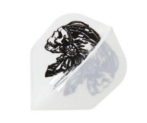 DARTS FLIGHT【 Flight-L 】 JONNY ver.3 安食賢一Model Shape White