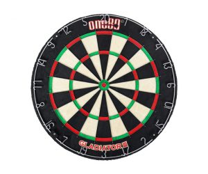 DARTS BOARD【one80】Gladiator III Bristle Board (寄送僅限台灣地區;無法超商取付)