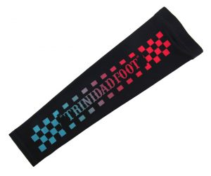 SPORTS ACCESSORIES【TRiNiDAD x Foot】Arm Supporter Checker L
