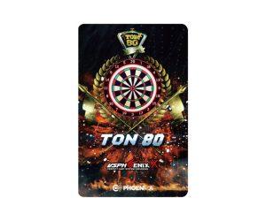 DARTS CARD【PHOENIX】PHOENicA 2019_01 VSX TON80