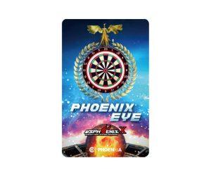 DARTS CARD【PHOENIX】PHOENicA 2019_01 VSX PHOENIX EYE