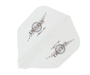 DARTS FLIGHT【JokerDriver】零-ZERO- Wing Logo Practice Shape Clear
