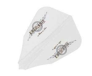 DARTS FLIGHT【JokerDriver】零-ZERO- Wing Logo Practice FF Clear