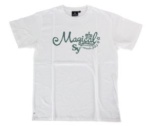 DARTS APPAREL【  SHADE  】Magical T-shirts 吉羽Sayoko Model White
