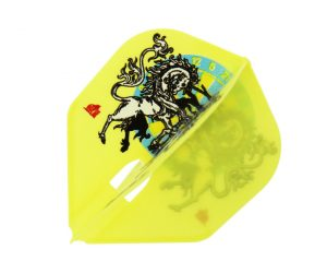 DARTS FLIGHT【L-Flight】PRO 柴田豊和 ver.1 Shape Yellow