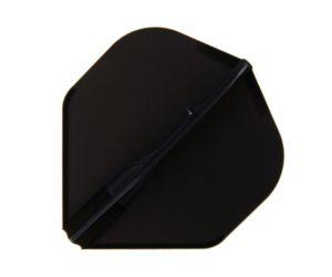 DARTS FLIGHT【L-Flight】EZ 香檳環一體型 Standard Black