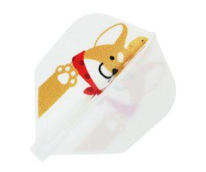 DARTS FLIGHT【 Fit Flight x D.Craft 】Shibainu 柴犬