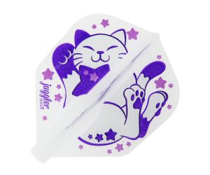 DARTS FLIGHT【Fit Flight ×JugglerQueen】 COSMIC CAT Shape Naturel