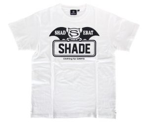 DARTS APPAREL【  SHADE  】SHADEBAT FaceLogo White