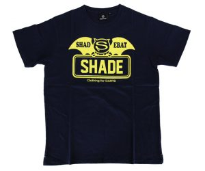 DARTS APPAREL【  SHADE  】SHADEBAT FaceLogo Navy