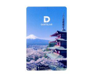 DARTS GAME CARD【DARTSLIVE】NO.1832