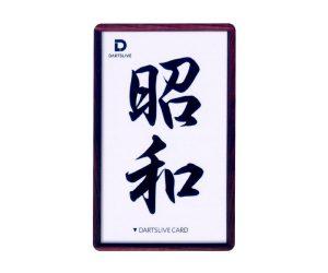 DARTS GAME CARD【DARTSLIVE】NO.1838