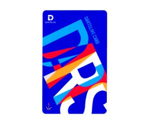 DARTS GAME CARD【DARTSLIVE】NO.1855