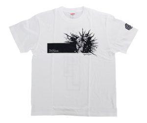DARTS APPAREL【 MASTER STROKE 】T-Shirts 松本康壽 glico ver.3 White