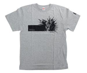 DARTS APPAREL【 MASTER STROKE 】T-Shirts 松本康壽 glico ver.3 Gray