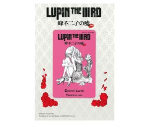 DARTS GAME CARD【DARTSLIVE】LUPIN THE ⅢRD 峰不二子的謊言 不二子A