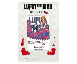 DARTS GAME CARD【DARTSLIVE】LUPIN THE ⅢRD 峰不二子的謊言 不二子B