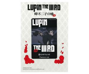 DARTS GAME CARD【DARTSLIVE】LUPIN THE ⅢRD 峰不二子的謊言 LUPIN &次元