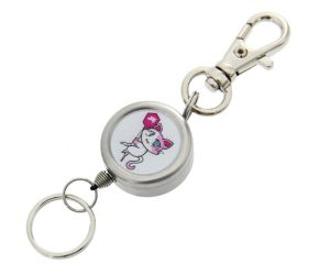 DARTS ACCESSORIES【S4】Reel Keyholder CATS 小梅