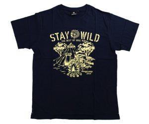 DARTS APPAREL【  SHADE  】STAY WILD T-Shirt 安食賢一 Model Navy