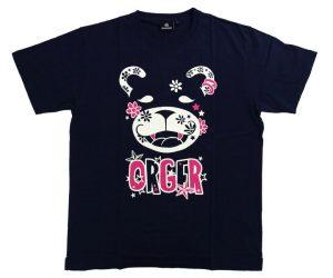 APPAREL【 SHADE 】ORGER 2019 T-Shirt 川上真奈 Model Navy