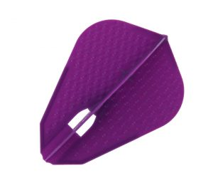 DARTS FLIGHT【 L-Flight 】PRO Dimple Z DeepPurple