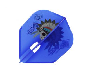 DARTS FLIGHT【 L-Flight x JONNY'S CLUB 】PRO SWEETLINE ver.1 Shape BlueMIX