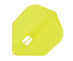 DARTS FLIGHT【 L-Flight 】PRO KAMI Shape Yellow