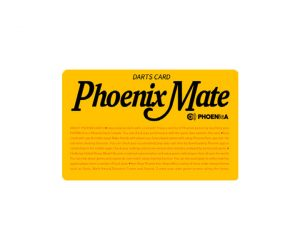 DARTS CARD【PHOENIX】NO.2136