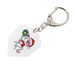 DARTS ACCESSORIES【S4】Flight Type Key Ring S4 CATS 小梅【 xmas限定ver.】