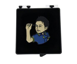 DARTS ACCESSORY【SHADE】Player Pin badge 村松治樹選手