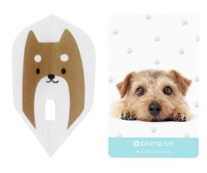 DARTS GAME CARD【DARTSLIVE】SPECIAL PACK L-Flight Dog