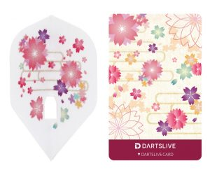 DARTS GAME CARD【DARTSLIVE】SPECIAL PACK L-Flight SAKURA