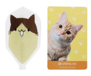 DARTS GAME CARD【DARTSLIVE】SPECIAL PACK Fit Flight Cat