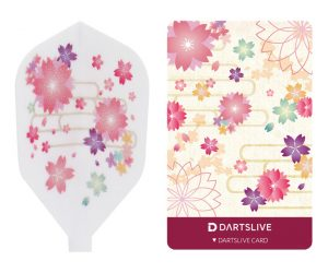 DARTS GAME CARD【DARTSLIVE】SPECIAL PACK Fit Flight SAKURA