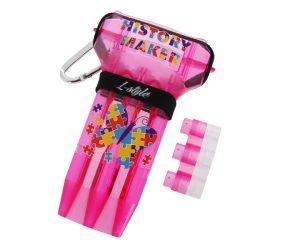 DARTS CASE【L-style x DYNASTY】KRYSTAL ONE Fallon Sherrock ver.2 Pink
