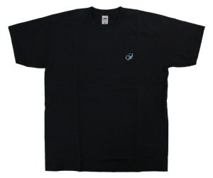 DARTS APPAREL【 COSMO DARTS 】FRUITS OF THE LOOM T-Shirt Tiling Black