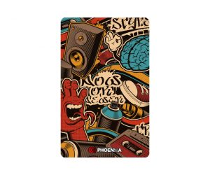 DARTS CARD【PHOENIX】NO.2144