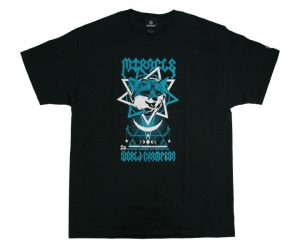 DARTS APPAREL【 SHADE 】鈴木未來 BDO V2記念 T-Shirt Black