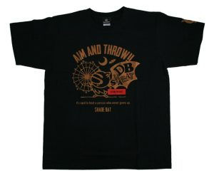 DARTS APPAREL【 SHADE 】DartsPractice T-Shirt Black