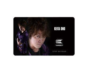 DARTS CARD【TARGET】NEXUS Account Card 小野惠太