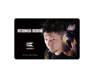 DARTS CARD【TARGET】NEXUS Account Card 星野光正