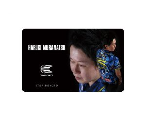 DARTS CARD【TARGET】NEXUS Account Card 村松治樹